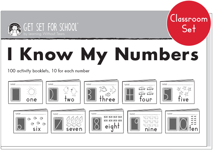 I Know My Numbers Classroom Set | Learning Without Tears