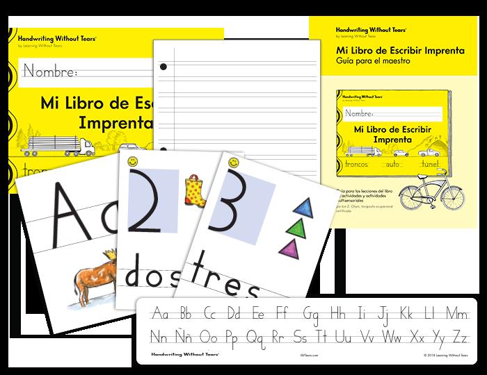 Spanish Handwriting Grade 1 Complete Classroom Kit
