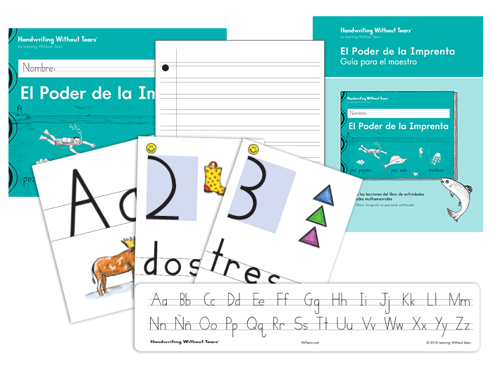 Spanish Handwriting Grade 2 Printing Complete Classroom Kit