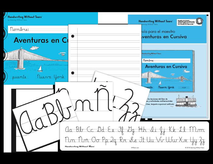 Spanish Handwriting Grade 2 Print/Cursive Complete Classroom Kit