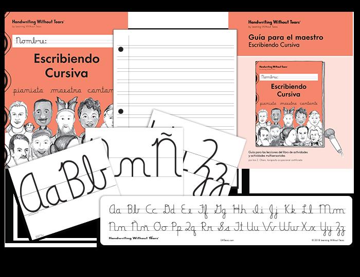 Spanish Handwriting Grade 3 Cursive Complete Classroom Kit