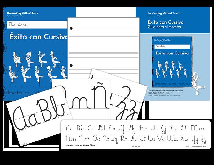 Spanish Handwriting Grade 4 Cursive Complete Classroom Kit