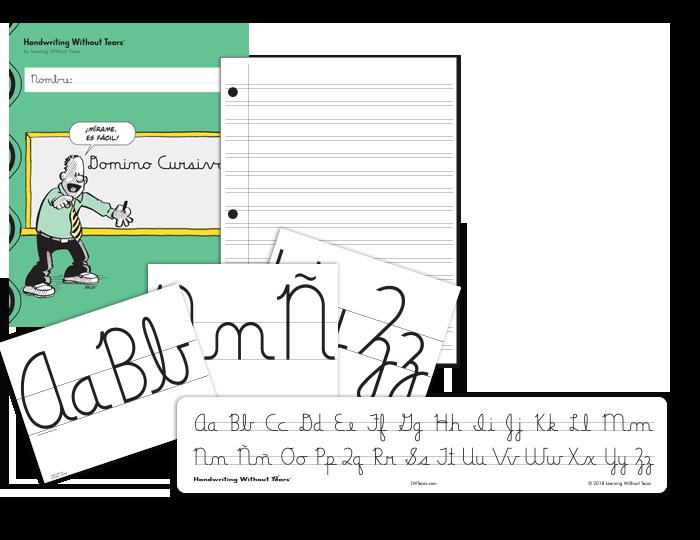 Spanish Handwriting Grade 5 Cursive Complete Classroom Kit