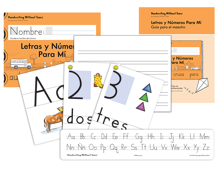 Spanish Handwriting Kindergarten Complete Classroom Kit