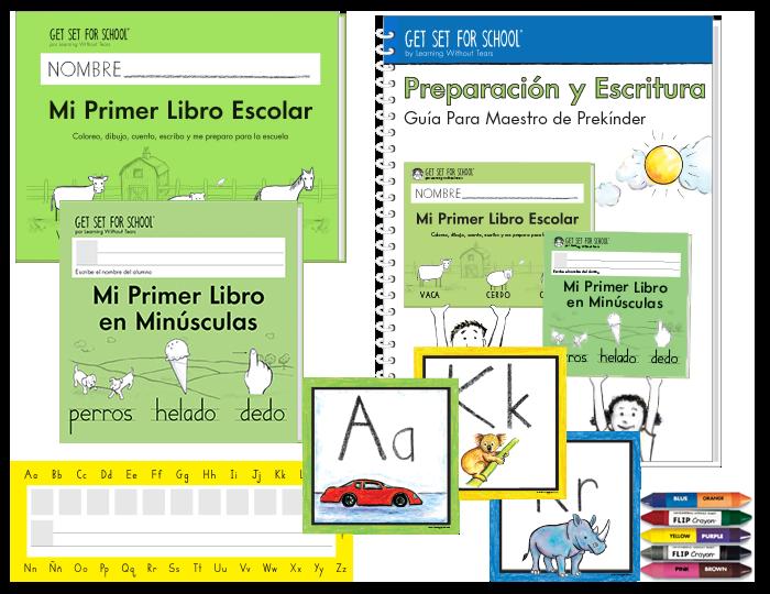 Spanish Handwriting PreK Complete Classroom Kit