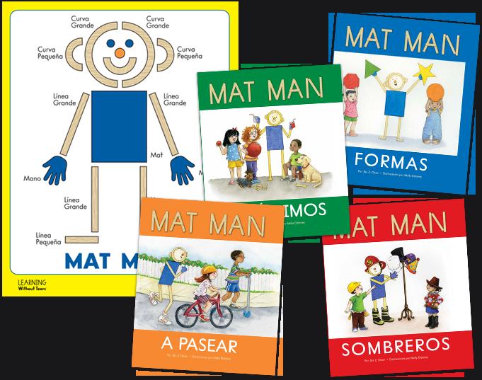 Spanish Mat Man Book Set