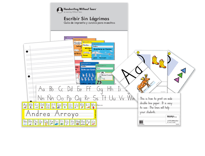 1st Grade Teacher Kit A with Teacher's Guide (Spanish)