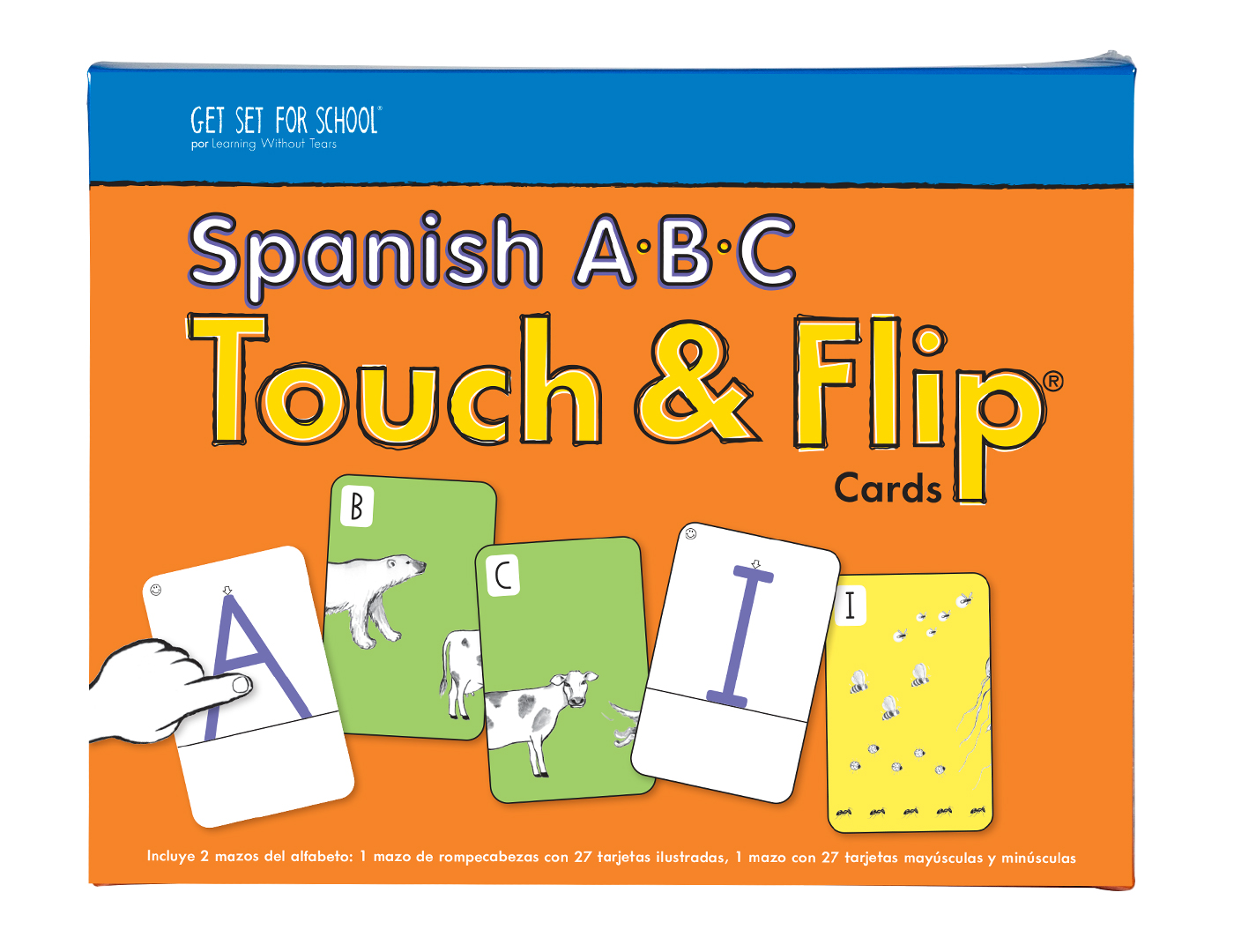 A-B-C Touch & Flip® Cards in Spanish