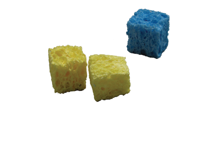 Little Sponge Cubes