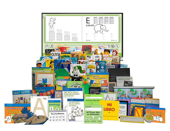 Get Set for School Curriculum Kit with Spanish My First Book Set