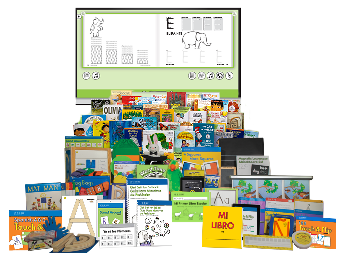 Get Set for School Curriculum Kit with Spanish My First School Book