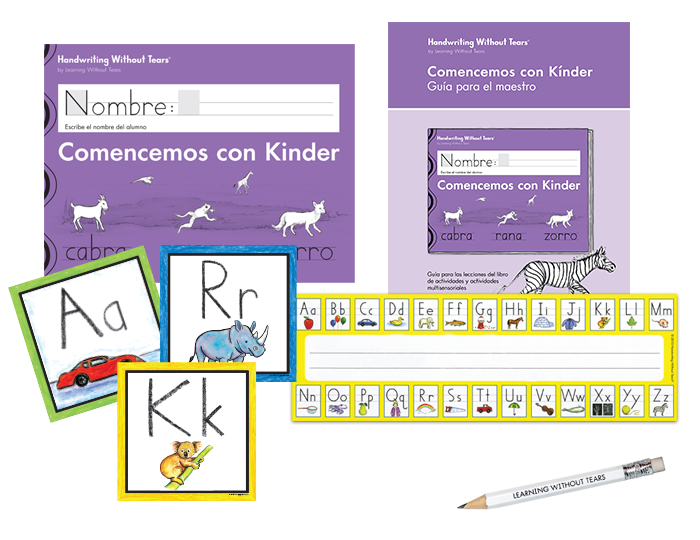 Spanish Handwriting Transitional K Complete Classroom Kit