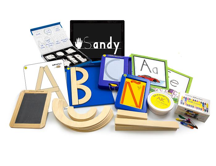 Spanish Readiness and Writing Manipulative Kit