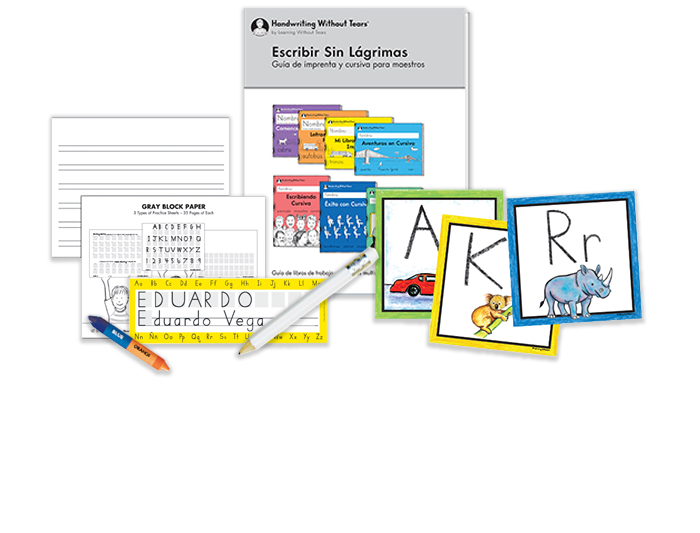 Teacher Kit A with Teacher's Guide: Transitional K (Spanish)