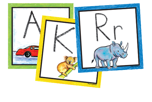 Pre-K Color Wall Cards (Spanish)