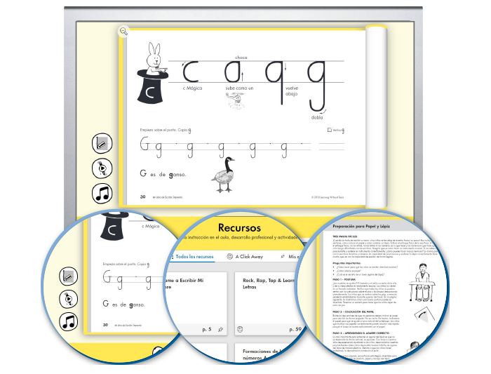 HITT (Spanish): The Handwriting Interactive Teaching Tool™ - 1st Grade (1-year educator license)