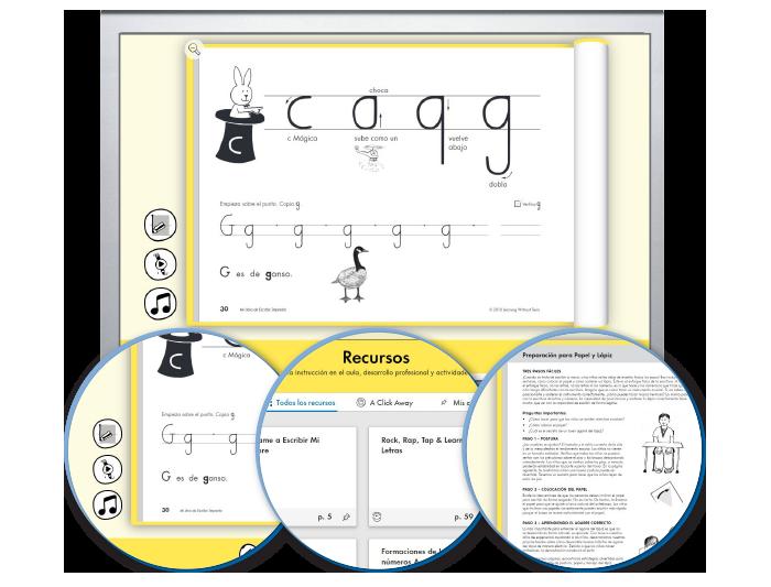 HITT (Spanish): The Handwriting Interactive Teaching Tool™ - 1st Grade (1-year educator license)