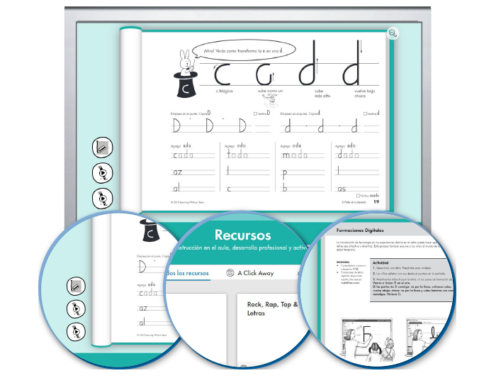HITT (Spanish): The Handwriting Interactive Teaching Tool™ - 2nd Grade - El Poder de la Imprenta (1-year educator license)