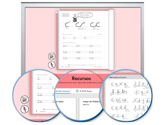 HITT (Spanish): The Handwriting Interactive Teaching Tool™ - 3rd Grade (1-year educator license)