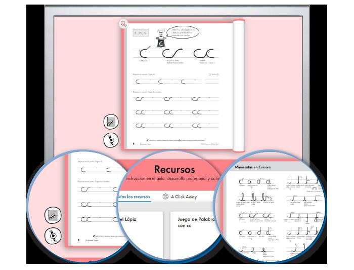 HITT (Spanish): The Handwriting Interactive Teaching Tool™ - 3rd Grade (1-year educator license)