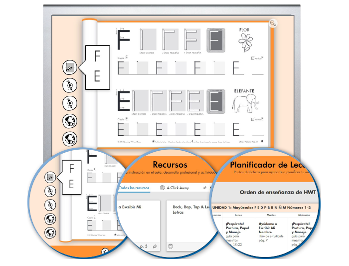 HITT (Spanish): The Handwriting Interactive Teaching Tool™ - K (1-year educator license)