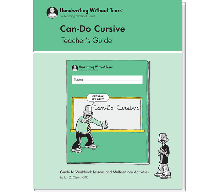 Can-Do Cursive Teacher's Guide