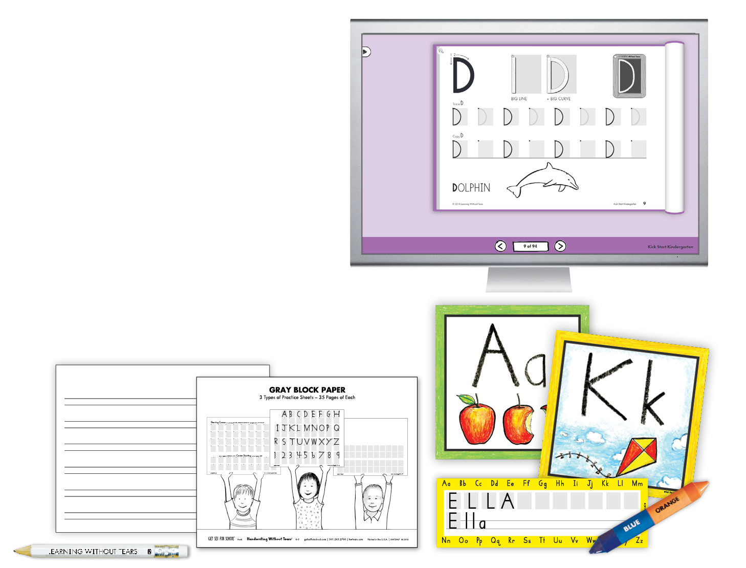 Transitional Kindergarten Teacher Kit B with The Handwriting Interactive Teaching Tool™