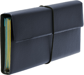 Deluxe Tract and Invitation Holder - Navy