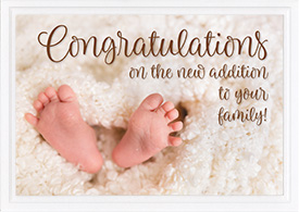 Baby Card-Congratulations