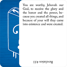 Bible Scripture Flash Cards
