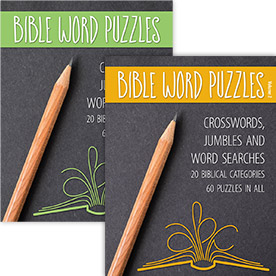 Bible Word Puzzles Two Volume Set
