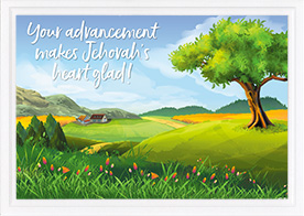 Children's Card-3 John 4