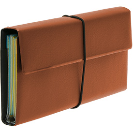 Deluxe Tract and Invitation Holder - Chestnut