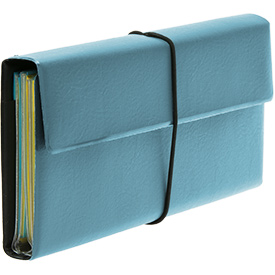 Deluxe Tract and Invitation Holder - Turquoise