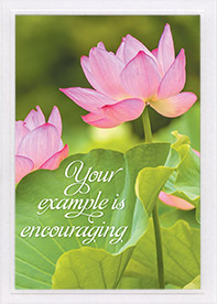 Encouragement Card-Heb 6:10