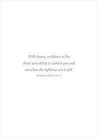 Encouragement Card-Ps 55:22 Inside