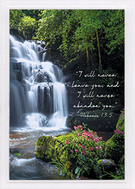 Encouragement Card-Heb 13:5