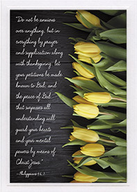 Encouragement Card-Php 4:6, 7