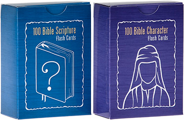 Bible Character and Scripture Flash Card Set
