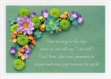 Get Well Card-Isa 33:24