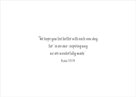 Get Well Card-Ps 139:14