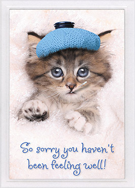 Get Well Card-Ps 41:3