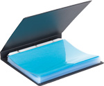 Open Periodical Binder with sheet protectors filled