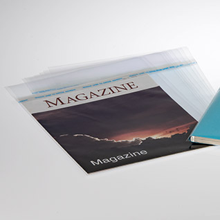 Literature Cart Bags for Magazines - Set of 10