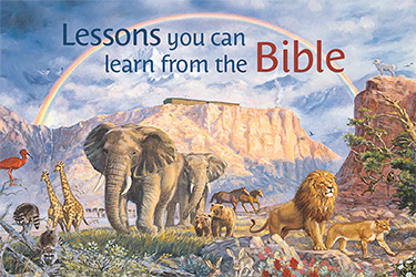 Lessons from the Bible Magnetic Bookmark
