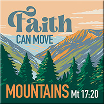 Fatih Can Move Mountains Magnet