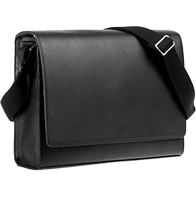 Leather Horizontal Messenger Bag