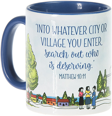 Search Out Who Is Deserving Mug