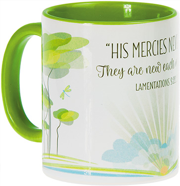 His Mercies Never End Mug