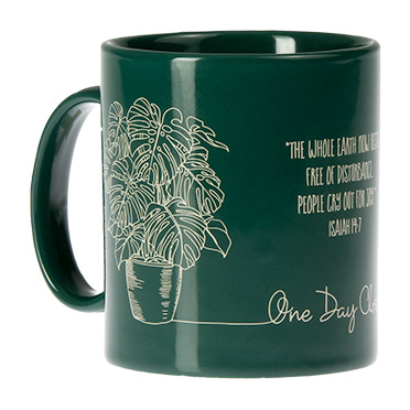 One Day Closer Mug - Isa 14:7